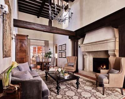 French Living Room. Jordan Winery and Vineyards by Haidamus Interiors.