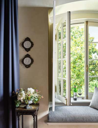French Bedroom. Jordan Winery and Vineyards by Haidamus Interiors.