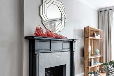 Modern Living Room. Grove Avenue by Samantha Heyl Studio.