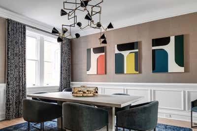 Modern Dining Room. Grove Avenue by Samantha Heyl Studio.