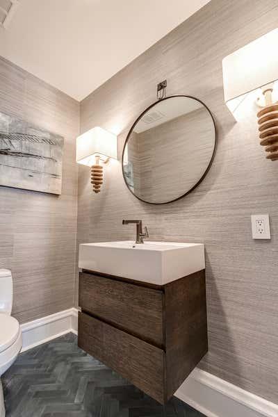 Modern Bathroom. Grove Avenue by Samantha Heyl Studio.