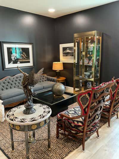 Hollywood Regency Living Room. Coletti  Interiors, LLC by  Coletti Interiors, LLC.