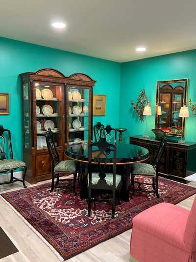 Hollywood Regency Dining Room. Coletti  Interiors, LLC by  Coletti Interiors, LLC.