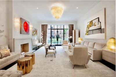 Modern Living Room. Townhouse  by Michelle Bergeron Design ltd..