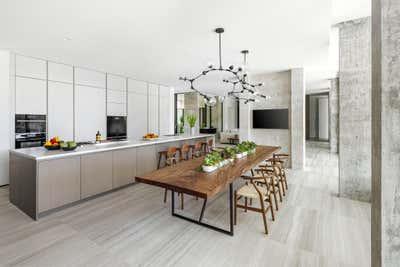 Modern Kitchen. Tarpon Bend Residence by Strang Architecture.