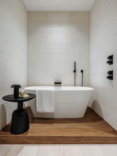 Modern Bathroom. Tarpon Bend Residence by Strang Architecture.