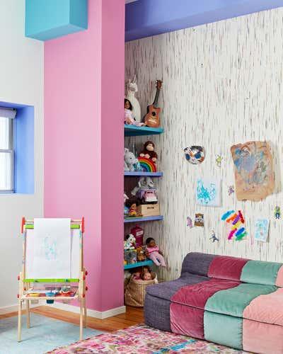 Maximalist Children's Room. Chelsea Loft by Evan Edward Interiors.