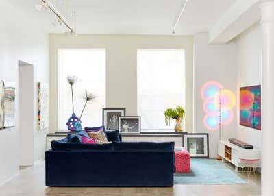 Maximalist Living Room. Chelsea Loft by Evan Edward Interiors.