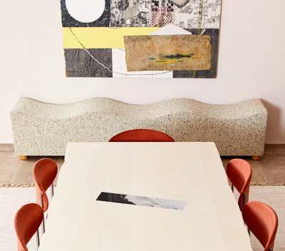 Maximalist Dining Room. Chelsea Loft by Evan Edward Interiors.