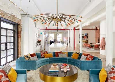 Maximalist Open Plan. Chelsea Loft by Evan Edward Interiors.