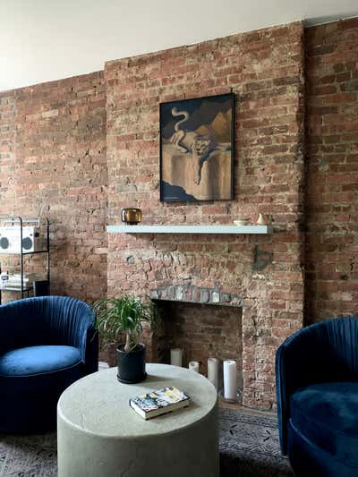 Art Deco Living Room. Macon Street by Samantha Heyl Studio.