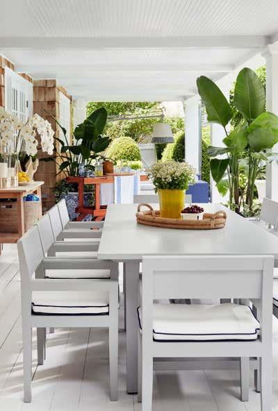 Arts and Crafts Exterior. Hamptons Residence by CARLOS DAVID.