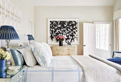 Arts and Crafts Bedroom. Hamptons Residence by CARLOS DAVID.
