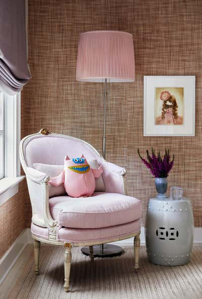 Arts and Crafts Children's Room. Hamptons Residence by CARLOS DAVID.