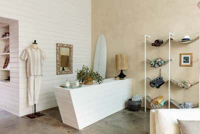 French Retail Open Plan. The Optimist Beach Club by Mallory Kaye Studio.