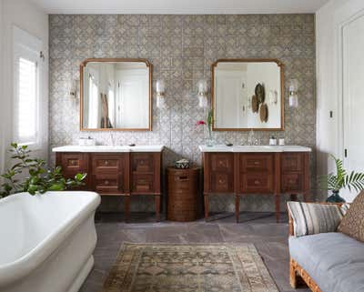 Coastal Bathroom. Coconut Grove by KitchenLab   Rebekah Zaveloff Interiors.