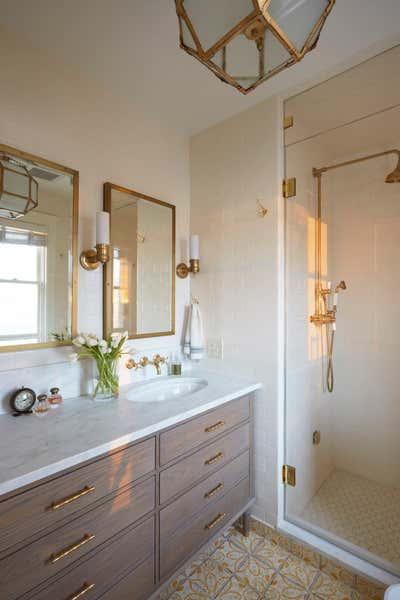 Arts and Crafts Bathroom. Sunnyside by KitchenLab   Rebekah Zaveloff Interiors.