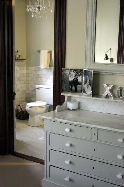 Craftsman Bathroom. Sheridan by KitchenLab   Rebekah Zaveloff Interiors.