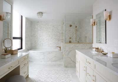 Contemporary Bathroom. Lakeshore Drive Two by KitchenLab   Rebekah Zaveloff Interiors.