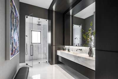 Modern Bathroom. Boca Raton Residence by Council Creative.