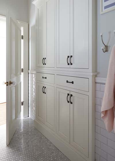 Craftsman Bathroom. Webster by KitchenLab   Rebekah Zaveloff Interiors.