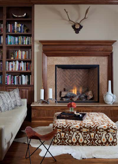 Contemporary Office and Study. Traditional with a Twist by Andrea Schumacher Interiors.