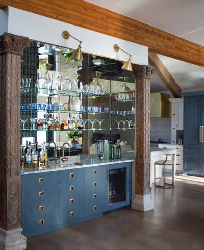 Coastal Bar and Game Room. Lakeside New Build by Andrea Schumacher Interiors.