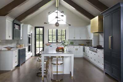 Coastal Kitchen. Lakeside New Build by Andrea Schumacher Interiors.