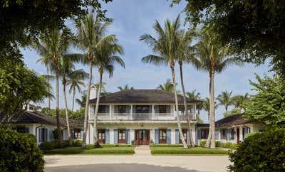 Bohemian Exterior. Family Retreat on Jupiter Island by Ferguson & Shamamian Architects.