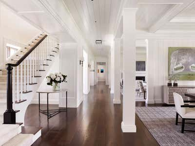 Bohemian Entry and Hall. Family Retreat on Jupiter Island by Ferguson & Shamamian Architects.