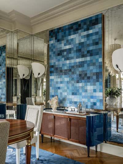 British Colonial Dining Room. Knightsbridge, Moscow by Irakli Zaria Interiors.