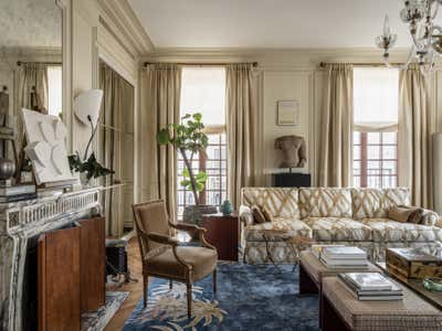 British Colonial Living Room. Knightsbridge, Moscow by Irakli Zaria Interiors.