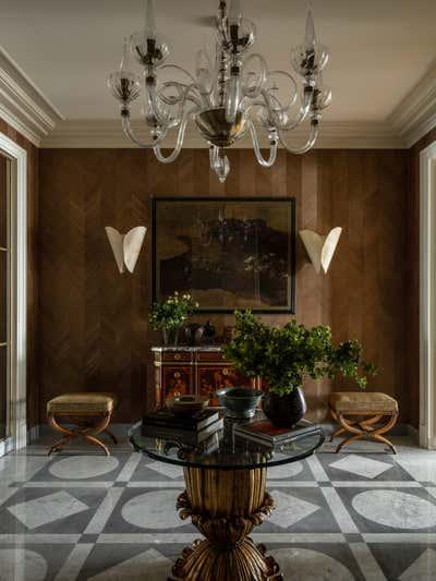 British Colonial Lobby and Reception. Knightsbridge, Moscow by Irakli Zaria Interiors.