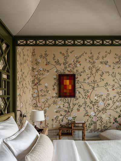 British Colonial Bedroom. Knightsbridge, Moscow by Irakli Zaria Interiors.