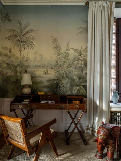 British Colonial Children's Room. Knightsbridge, Moscow by Irakli Zaria Interiors.