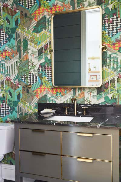 Contemporary Bathroom. Rockwell by KitchenLab   Rebekah Zaveloff Interiors.