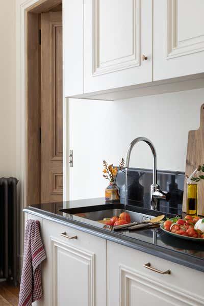 Eclectic Kitchen. A Pearl on Pre-aux-Clercs by Kasha Paris.