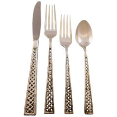 Tradewinds by International Sterling Silver Flatware Set for 8 Service 36 Pieces