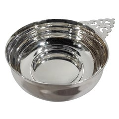 Traditional American Sterling Silver Porringer