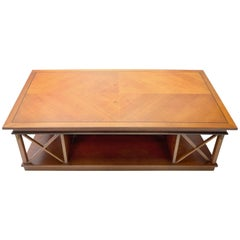 Traditional Angelo Cappellini Coffee Table with Neoclassical Details