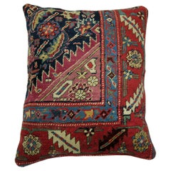 Traditional Antique Karabagh Rug Pillow
