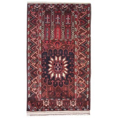 Traditional Antique Rugs Handmade Carpet Oriental Red Wool Area Rug