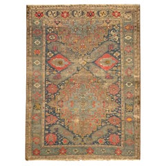Traditional Antique Rugs Oriental Wool Carpet Home Decor Area