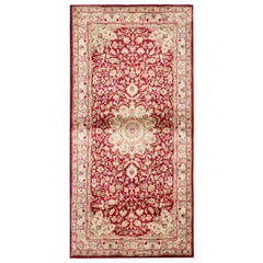 Traditional Area Rugs, Indian Carpet Red Rug, Floor Rugs for Sale