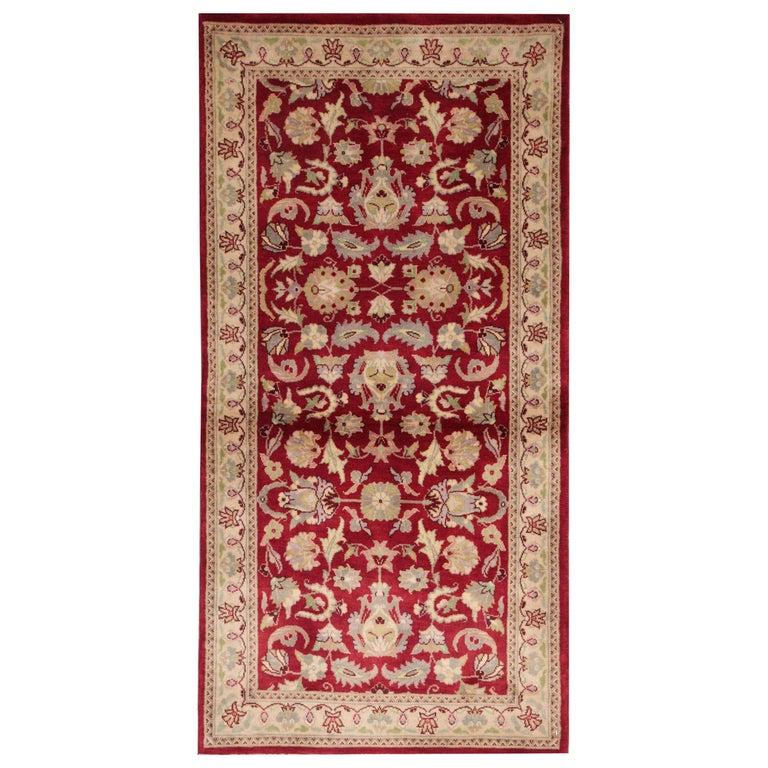 Indian Carpet Red Rug Floor Rugs