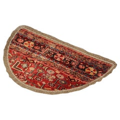 Traditional Carpet Door Mats, Refurbished Handmade Wool Entrance Mat Rug Sale