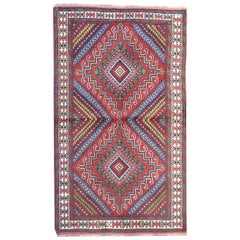 Traditional Carpet Hand Knotted Caucasian Rug