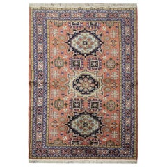 Traditional Carpet Vintage Turkish Rug Wool Oriental Rug, Bedroom Rug for Sale