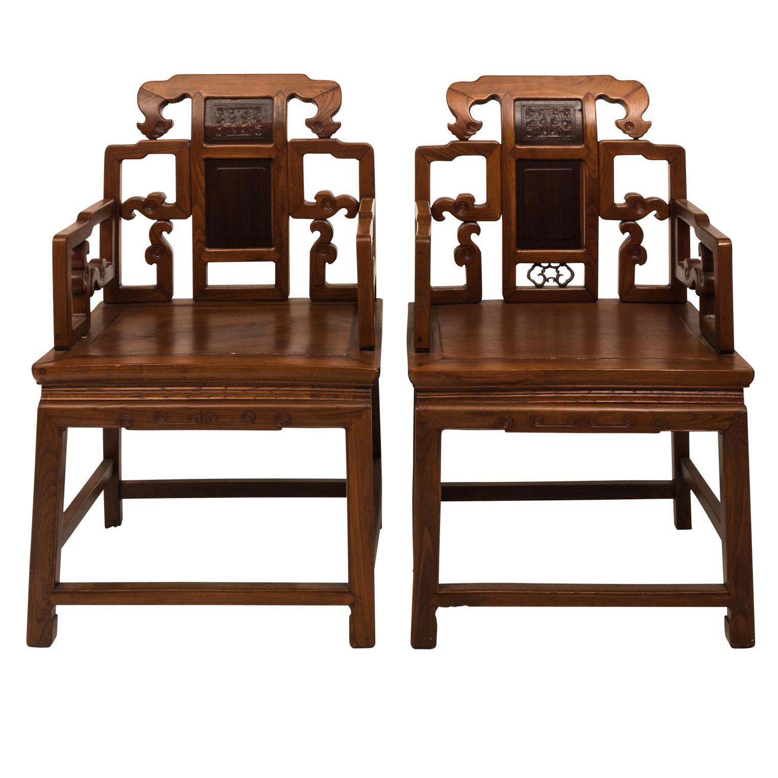 Traditional Chinese Alter Chairs