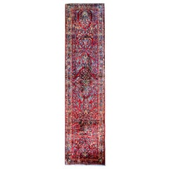 Traditional Early 20th Century Persian Sarouk Runner
